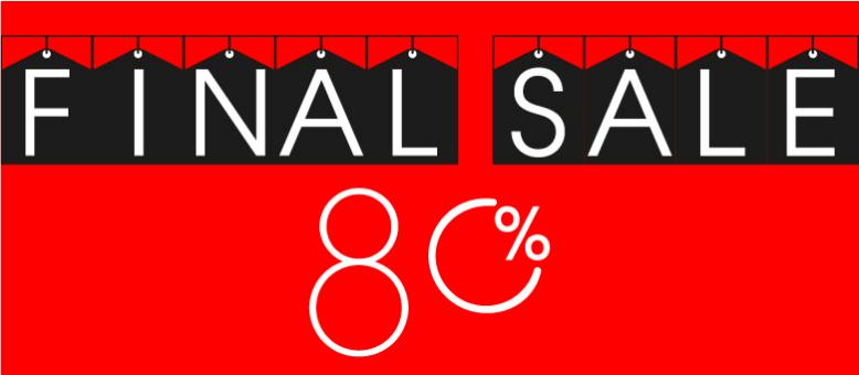 Final Sale-80%-Финальная распродажа-80% Гагарин