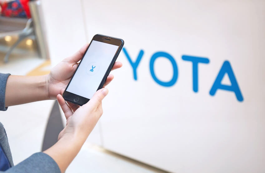 YOTA - Торгово-развлекательный центр Гагарин